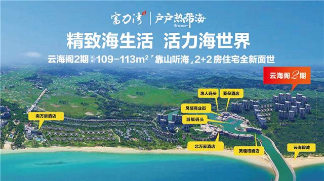 富力湾房源在售,均价约16700元/㎡(图1)